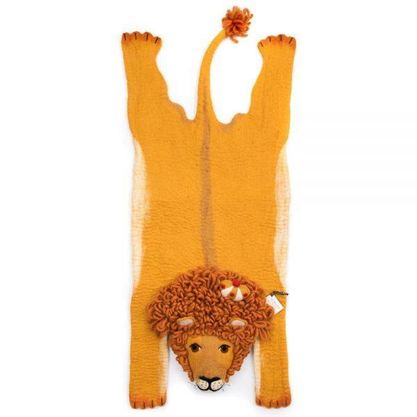 Vloerkleed Leopold de Leeuw van Sew Heart Felt - My Little Carpet