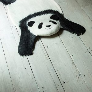 Vloerkleed Ping de Panda van Sew Heart Felt - My Little Carpet