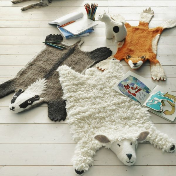 Vloerkleed Shirley het Schaap van Sew Heart Felt - My Little Carpet
