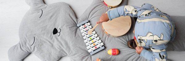 Speelmat Teddy Bear (150 cm) van Childhome - My Little Carpet
