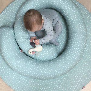 Babymat en Babyring Blauw van Franck&Fischer - My Little Carpet