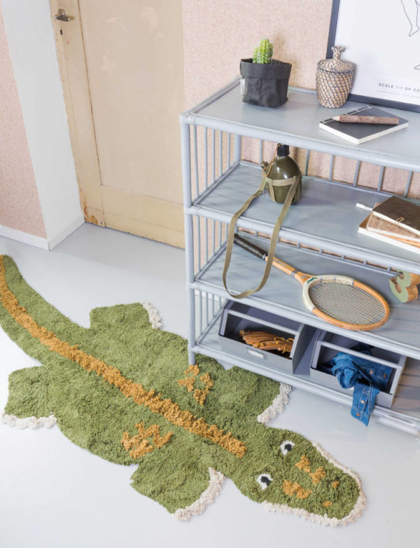 Vloerkleed Chris De Krokodil van KidsDepot- My Little Carpet