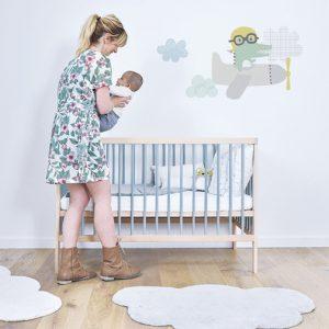 Vloerkleed Wolk Wit H0271 van Lilipinso - My Little Carpet