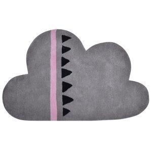 Vloerkleed Wolk Grijs Roze H0274 van Lilipinso - My Little Carpet