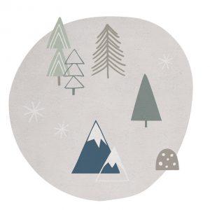 Vloerkleed Forest H0332 van Lilipinso - My Little Carpet