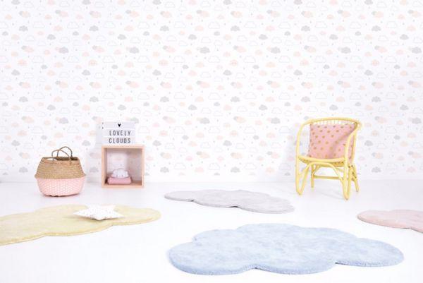 Vloerkleed Wolk Zacht Geel H0354 van Lilipinso - My Little Carpet