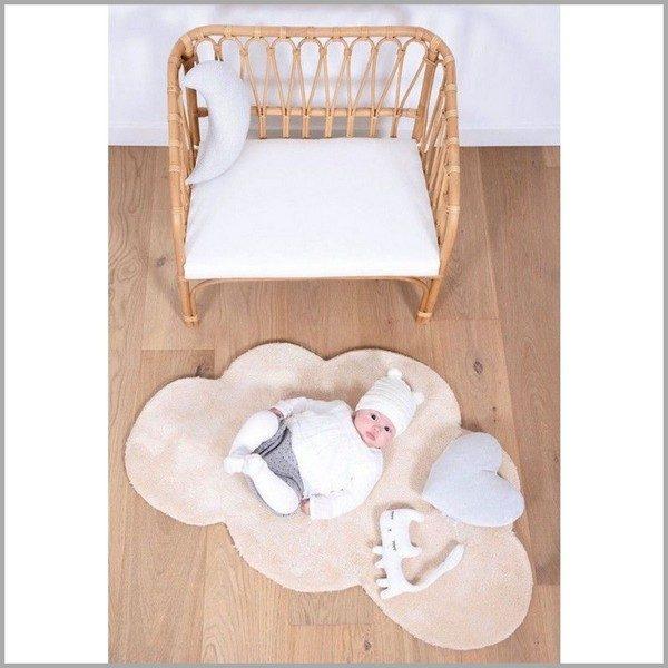 Vloerkleed Wolk Pastel Oranje H0355 van Lilipinso - My Little Carpet