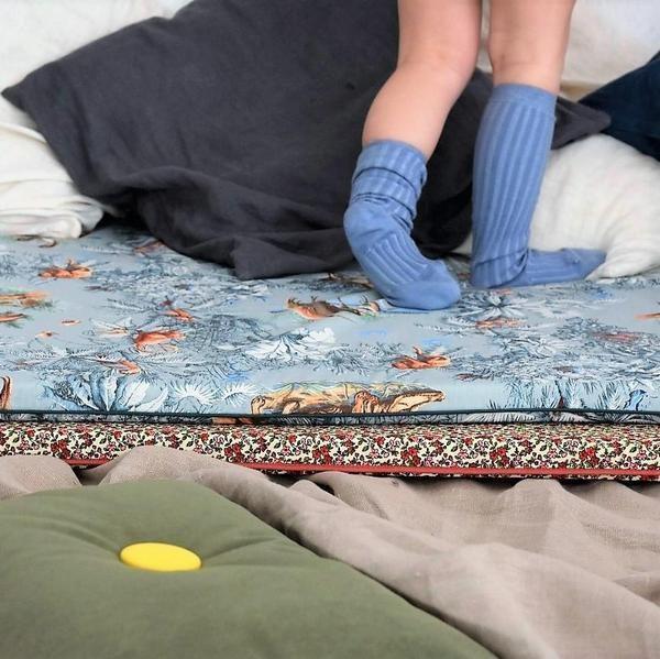 Playmat It's A Wild Jungle Baby van ByAlex - My Little Carpet