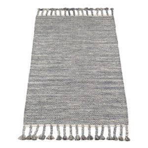 Vloerkleed Fringes Grijs van KidsDepot- My Little Carpet