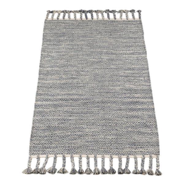 Vloerkleed Fringes Grijs van KidsDepot- My Little Carpet