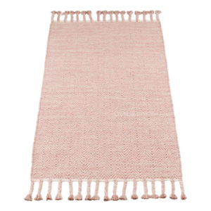 Vloerkleed Fringes Roze van KidsDepot- My Little Carpet
