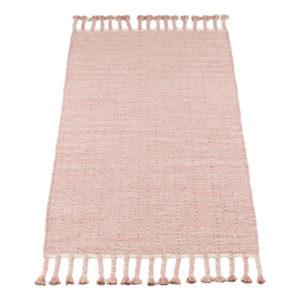 Vloerkleed Fringes Roze van KidsDepot- My Little Carpet