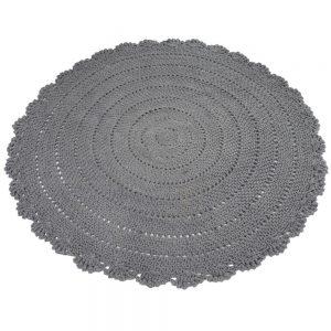 Vloerkleed Roundy Grijs van KidsDepot- My Little Carpet