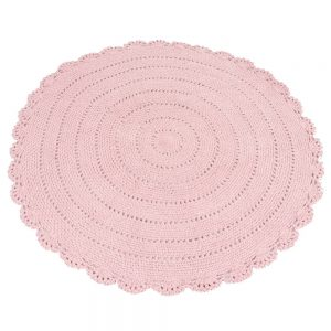 Vloerkleed Roundy Roze van KidsDepot- My Little Carpet