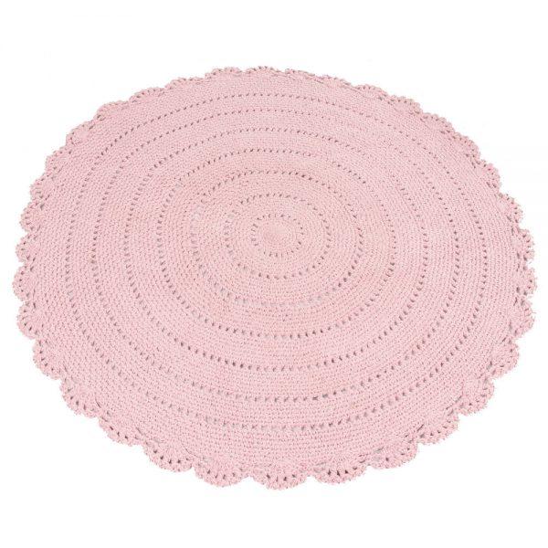 Vloerkleed Roundy Roze van KidsDepot- My Little Carpet