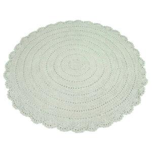 Vloerkleed Roundy Grijs-Groen van KidsDepot- My Little Carpet