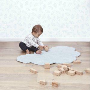 Vloerkleed Wolk Baby Blauw H0348 van Lilipinso - My Little Carpet