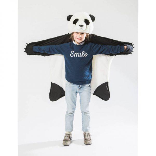 Vloerkleed / Vermomming Panda van Wild and Soft - My Little Carpet