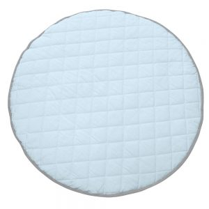 Speelkleed Quilted Light Blue/Light Grey van Mister Fly - My Little Carpet