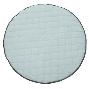 Speelkleed Quilted Mint/Dark Grey van Mister Fly - My Little Carpet