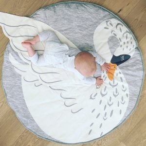 Speelkleed Swan van Mister Fly - My Little Carpet