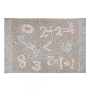 Vloerkleed Baby Numbers van Lorena Canals - My Little Carpet