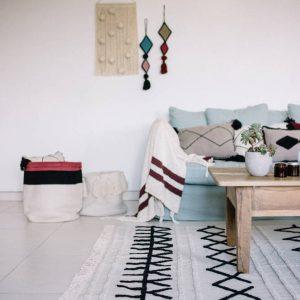 Vloerkleed Bereber Canvas van Lorena Canals - My Little Carpet