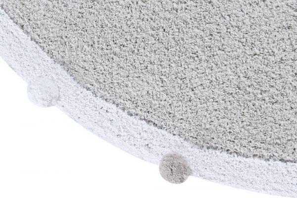 Vloerkleed Bubbly Light Grey van Lorena Canals - My Little Carpet