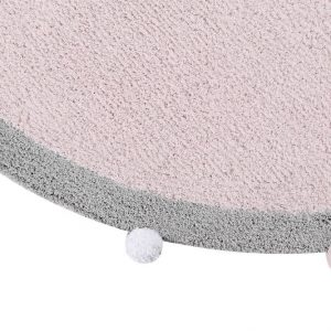 Vloerkleed Bubbly Soft Pink van Lorena Canals - My Little Carpet