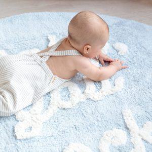 Vloerkleed Baby You Rock! van Lorena Canals - My Little Carpet