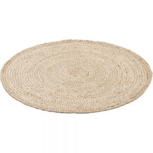 Rond Vloerkleed Jute Naturel van KidsDepot - My Little Carpet