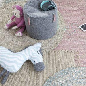 Vloerkleed Jute van KidsDepot - My Little Carpet