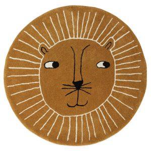 Vloerkleed Leeuw van OYOY - My Little Carpet