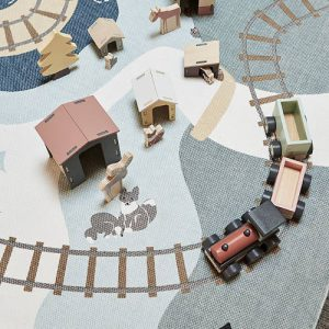 Vloerkleed Edvin van Kids Concept - My Little Carpet