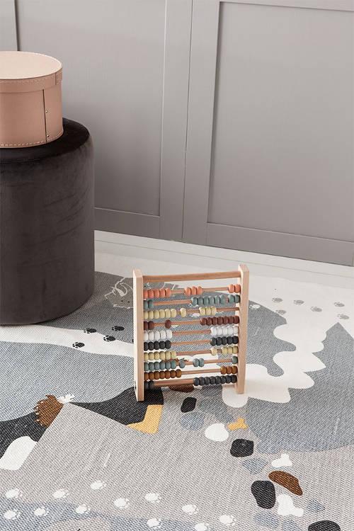 Vloerkleed Neo Stone Age van Kids Concept - My Little Carpet