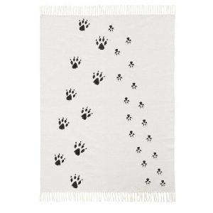 Vloerkleed NEO zwart-wit (Pootjes) van Kids Concept - My Little Carpet