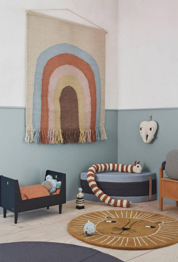 Wandkleed Follow The Rainbow van Oyoy - My Little Carpet