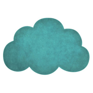 Vloerkleed Wolk Jungle Blauw H0516 van Lilipinso - My Little Carpet