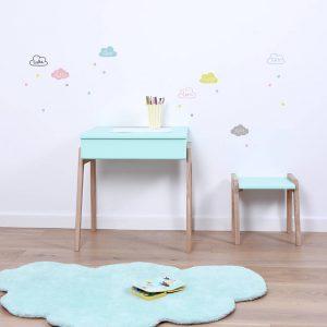 Vloerkleed Wolk Mist Blauw H0295 van Lilipinso - My Little Carpet