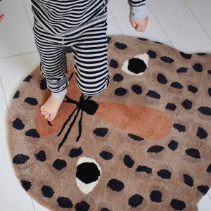 Vloerkleed Luipaard van OYOY - My Little Carpet