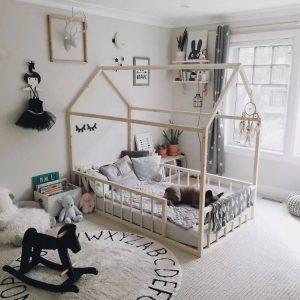 Vloerkleed Round ABC Natural van Lorena Canals - My Little Carpet