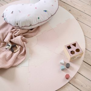 Speelmat Puzzel Dusty Pink van Sebra - My Little Carpet