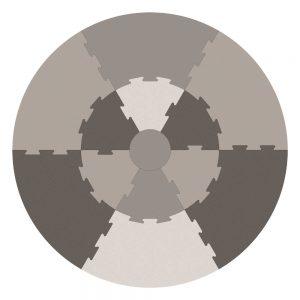 Speelmat Puzzel Warm Grey van Sebra - My Little Carpet