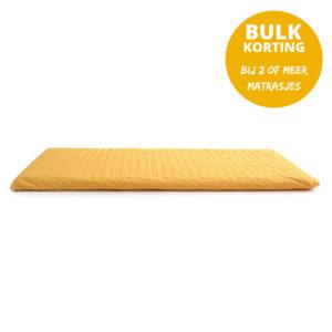 Speelmatras Monaco - Farniente Yellow van Nobodinoz - My Little Carpet