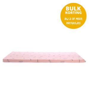 Speelmatras St. Barth – Blue Secrets Misty Pink van Nobodinoz - My Little Carpet