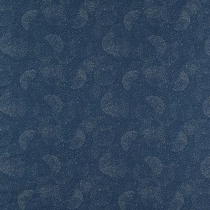 Speelmatras St. Barth – Gold Bubble Night Blue van Nobodinoz - My Little Carpet