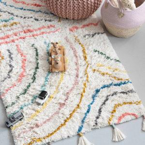 Vloerkleed Berber Pastel van KidsDepot - My Little Carpet
