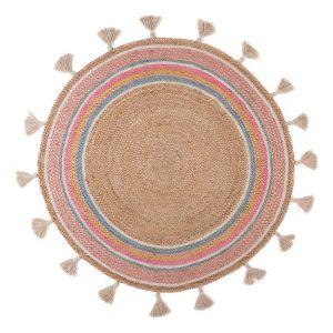 Rond Vloerkleed Smile van KidsDepot - My Little Carpet