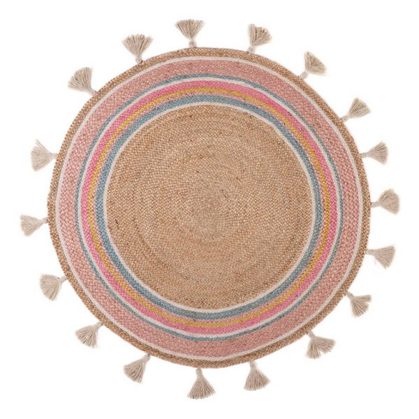 Rond Vloerkleed Smile van KidsDepot - My Little Carpet