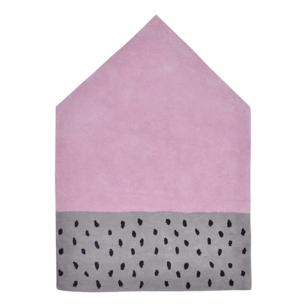 Vloerkleed Happy Clouds House H0276 van Lilipinso - My Little Carpet
